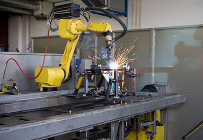 Robotic welding cell automation