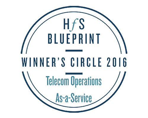 wipro positioned in the winners circle in hfs blueprint on telecom as a service