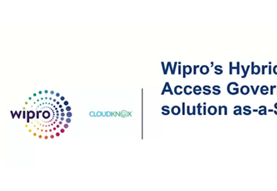 Wipro CloudKnox Joint Webinar on Securing Hybrid and Multi-cloud setup