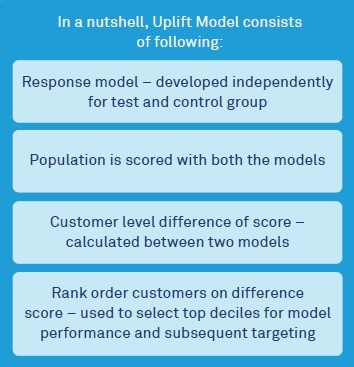 Targeted Campaign by Uplift Model - Wipro