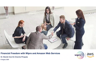 Realize your financial freedom with Wipro & AWS